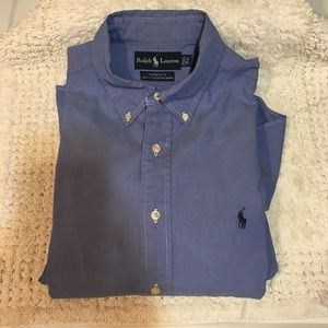 Ralph Lauren Yarmouth pinpoint Oxford 16 1/2 32/33